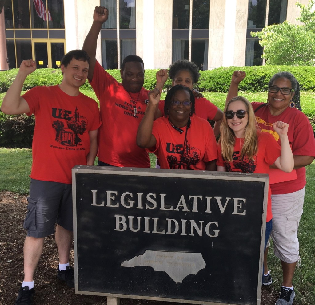 UE 150 Wins Raises to $15/hr for all State Workers!