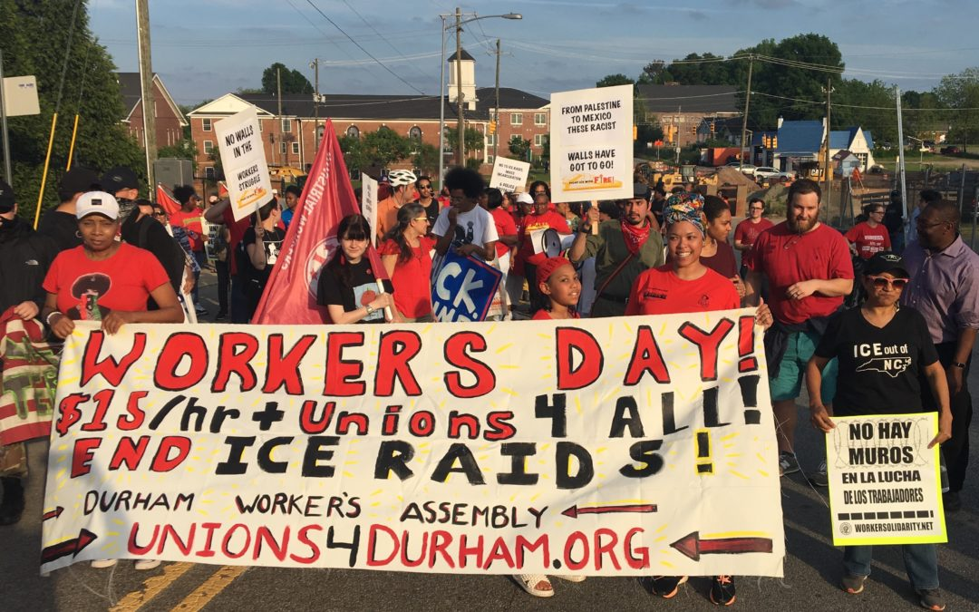 May Day Actions in NC & SC